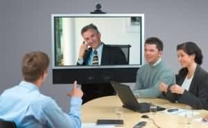 Online behavioral interview photo